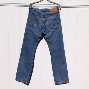 Levi's 501xx vintage button fly jeans sz 29